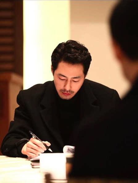 film drama korea jo in sung jo in sung and jung woo sung look good in black at first