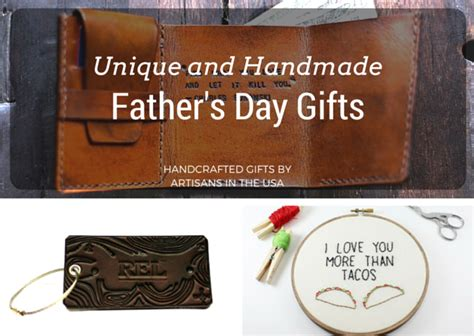 Unique Handmade Gifts For Him - unique and handmade father s day gifts aftcra