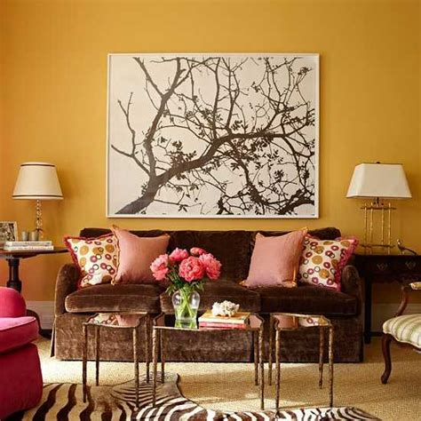 living room artwork 24 modern interior decorating ideas incorporating tree