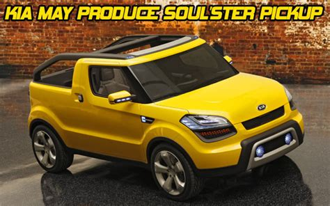 kia soul truck kia soul ster inches closer to possible production
