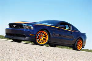 Black Mustang With Grabber Blue Stripes Late Model Restoration Builds Custom Rtr Mustang Track Car Mustangs Daily