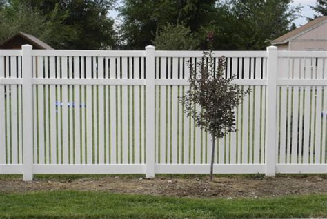 fencing options semi privacy and picket fence options in boise meridian fence
