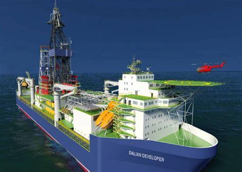 biggest drillships in the world china cosco orders ellis cleats for new drillship