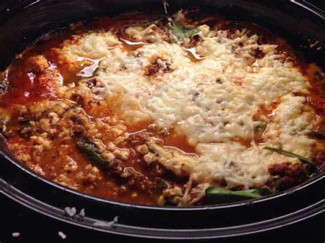 Crockpot Lasagna Cottage Cheese Crockpot Lasagna 1 Lb Crockpot Lasagna With Cottage Cheese