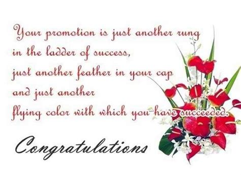 Promotion Greeting Letter The Best Congratulations On Promotion Messages For Co