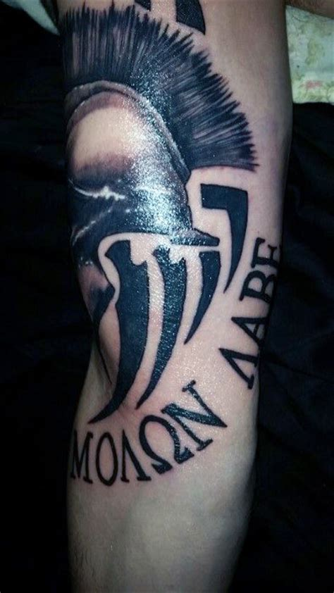 greek tribal tattoo 30 molon labe designs for tactical ink ideas