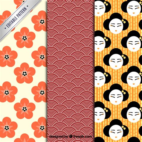japanese pattern vector download japanese patterns vector free download