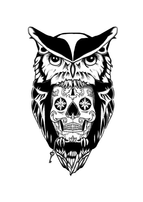 owl tattoo concept by strikie on deviantart