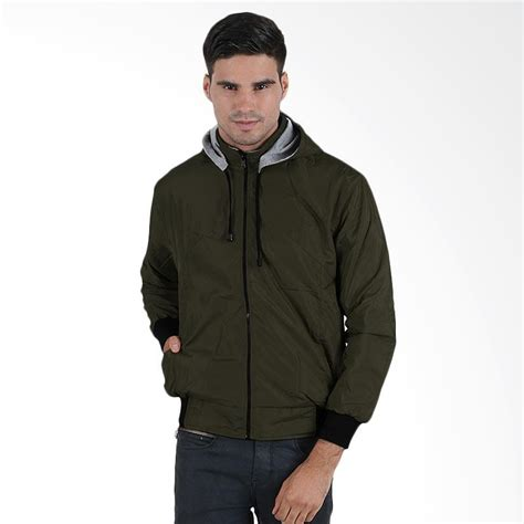 Jaket Parasut Fleece jual elfs shop parasut reverseable fleece jaket hoodie