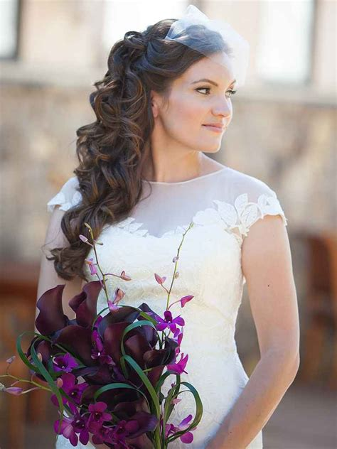 Wedding Hairstyles With Mantilla Veil by 20 Wedding Hairstyles For Hair With Veils