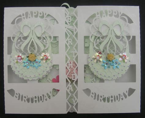 Card Template Svg File by Svg File Template Birthday Basket Door Card 163 2 20
