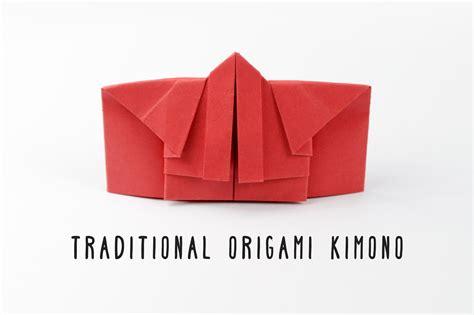 origami kimono traditional origami kimono