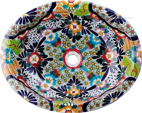 mexican hand painted sinks mexican painted sinks images