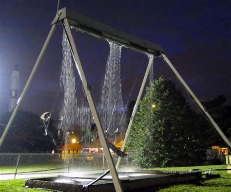 waterfall swing set the waterfall swing is amazing and i want one badly