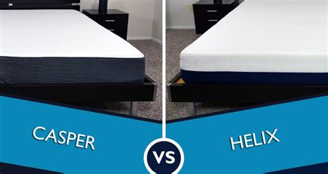 Mattress Reviews Ratings by Helix Vs Casper Mattress Review Sleepopolis