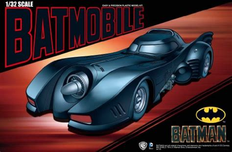 aoshima models batmobile from batman returns vehicle model building kit 1 32 scale what s it