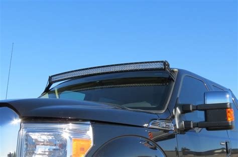 F250 Led Light Bar Roof Mount 1999 2014 F250f350 Superduty 50 Led Curved Light Bar Roof Mount Autos Post