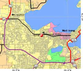Madison Zip Code Map by 53705 Zip Code Madison Wisconsin Profile Homes