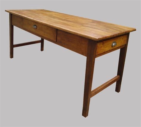 table ancienne bois avec tiroir wraste