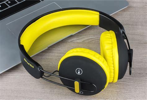 Headset Bluetooth Awei awei a800bl wireless bluetooth headphones with mic black