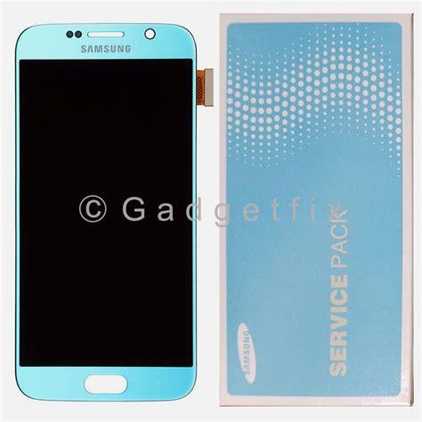 Screen Topaz topaz blue samsung galaxy s6 g920a g920v g920p g920t lcd