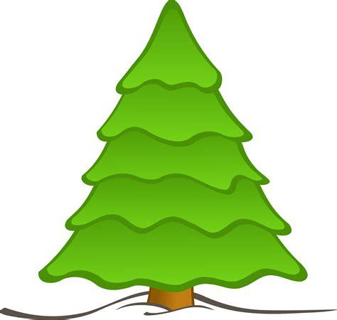 christmas tree art cliparts