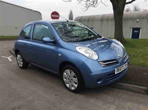 nissan micra 2007 nissan micra 2007 automatic low mileage car for sale