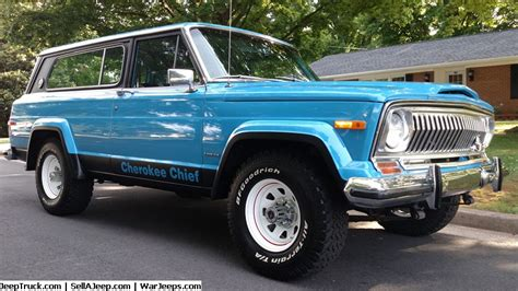 jeep chief truck 1982 jeep chief restoration modified 1