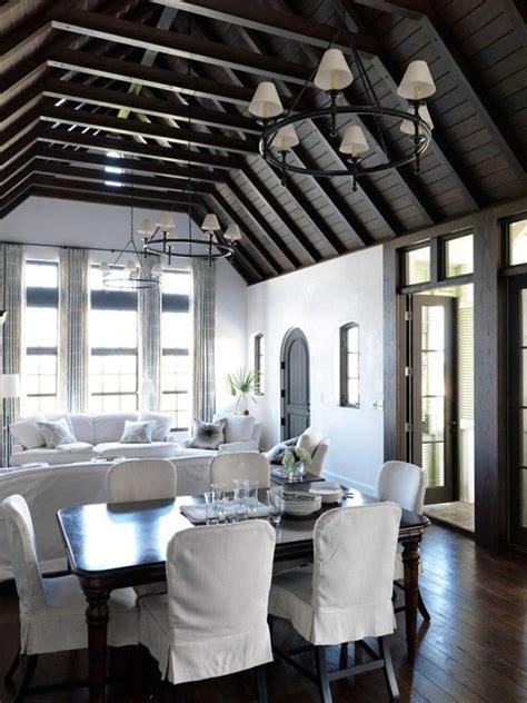 Beamed Ceilings Living Room by 25 Best Ideas About Beam Ceilings On Wood