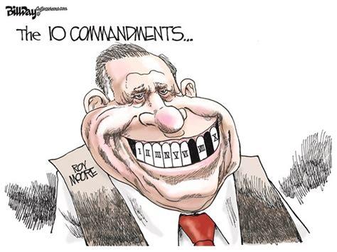 roy moore political cartoon roy moore and the ten commandments political cartoons