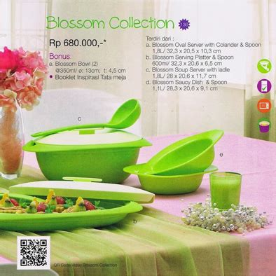 Tupperware Blossom Terbaru blossom collection tupperware promo februari 2015