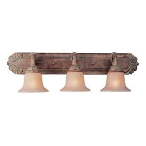 rustic bathroom vanity lights shop bel air lighting 3 light rustic bronze bathroom vanity light at lowes