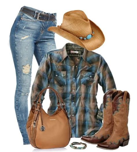 8 Western Inspired Looks by 42 Best C W Images On Denim Boots Clothing