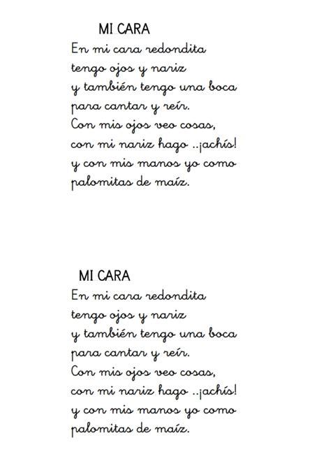 poesias para fin de curso en preescolar y educacin infantil poes 237 a infantil con pictograma