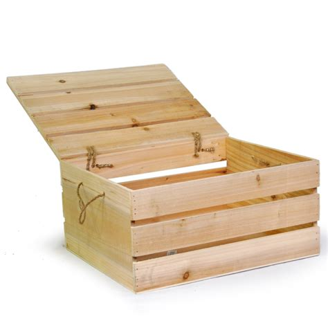 holiday wood storage box ideas wooden storage box with lid large the lucky clover trading co