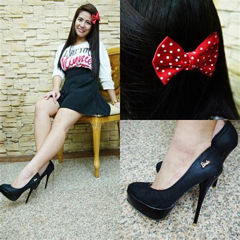 Ribbon Slingbag al chua minnie mouse ill be your shirt vintage