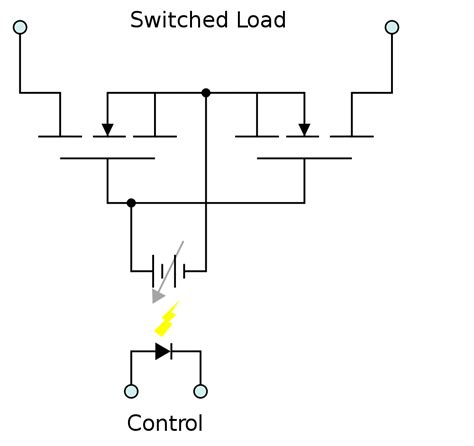 mosfet switch resistor switch ac loads using mosfet s as relay easy electronics