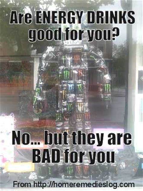 Energy Drink Meme - energy drinks a real monster