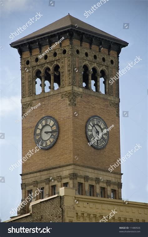 colville wa city center clock tower photo picture the old broken clock on the tacoma washington city hall