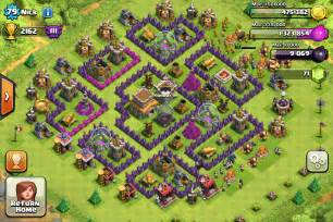Town hall 8 bases to help you trophy push