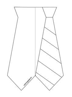 tie template for card free printable s day tie coloring page color cut
