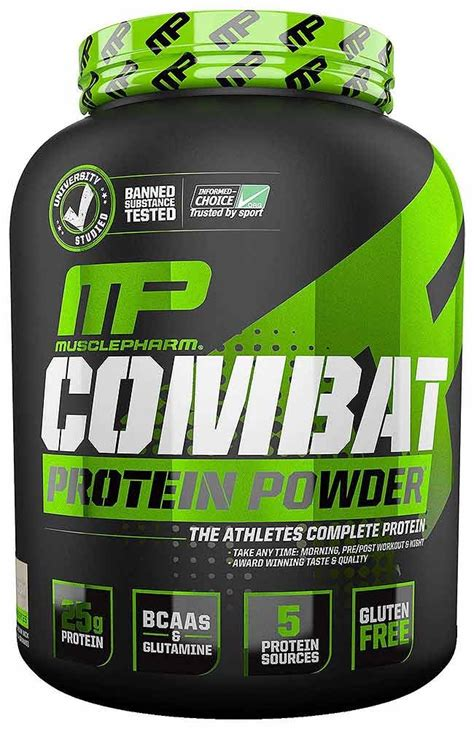 Combat Whey Protein Musclepharm Combat Powder Protein Blends Whey Protein