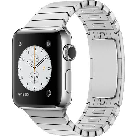 New Apple Stainless 3 Link I Wacth Series 1 2 3 2 used apple series 2 38mm smartwatch mnp52ll a b h photo