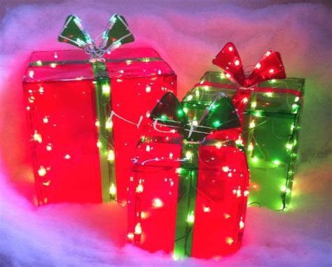 outdoor gifts for outdoor lighted gift boxes gifts for everyone