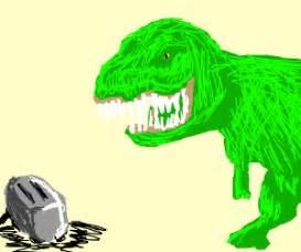 Dinosaur Toaster toaster vs dinosaur