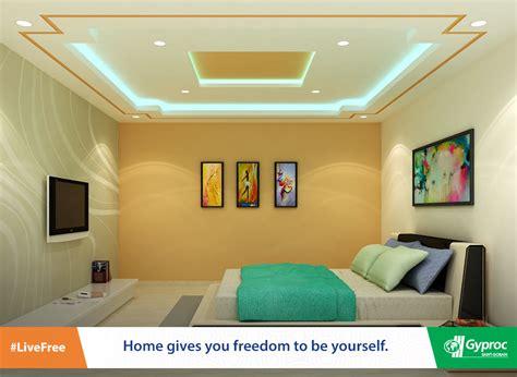 indian pop design  bedroom bedroom false ceiling