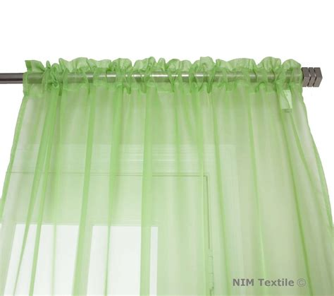 lime green sheer curtains lime green sheer voile curtains