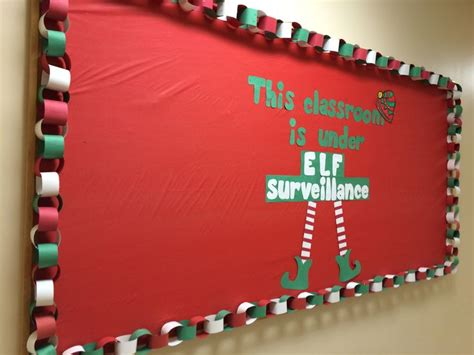 soft board decoration for christmas december bulletin board this classroom is surveillance my classroom