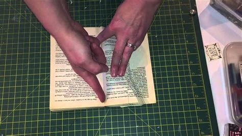 How To Make A Foldable Book Out Of Paper - book folding tutorial sewing spool shape pattern