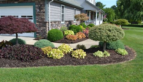 Garden Pics Ideas A Colorful Landscape Design Idea For Sidewalk Planting Landscaping Ideas With Photos Rszdsc